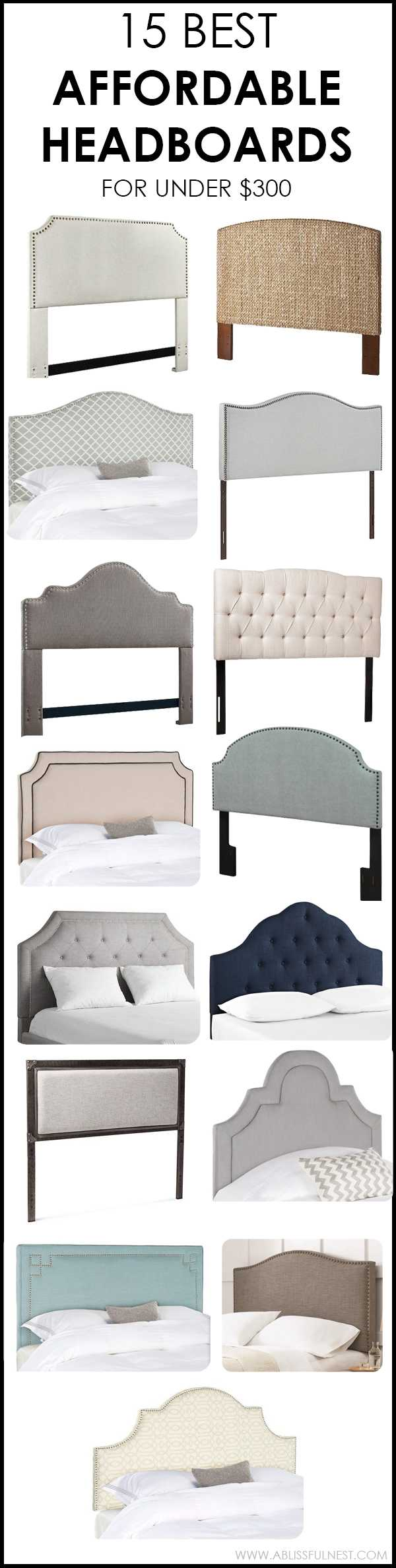 affordable headboards under  with lots of style, Headboard designs