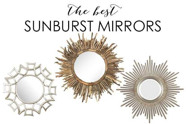 10 Best Sunburst Mirrors