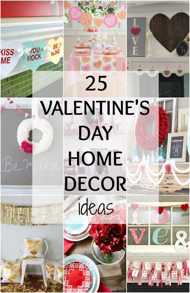 Valentine\'s Day Home Decor Ideas - 25 BEST Ideas