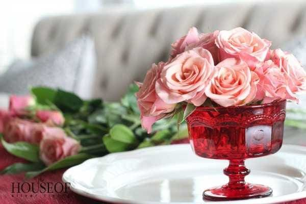 Valentines Day Floral Arrangement Tutorial