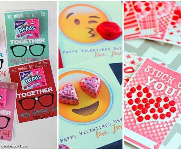 20 DIY Valentine's Day Card Ideas