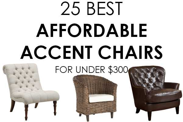 Friday Favorites – Affordable Accent Chairs