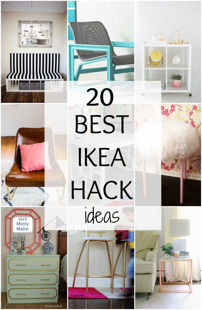 BEST IKEA HACK IDEAS via a Blissful Nest