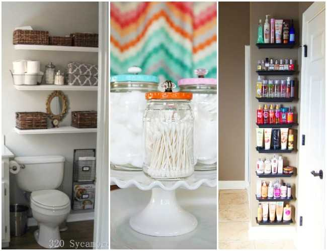 Bathroom organization ideas hacks 20 tips to do now for Bathroom closet organizer ideas