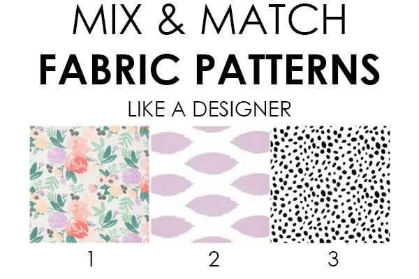 How To Mix Fabric Patterns