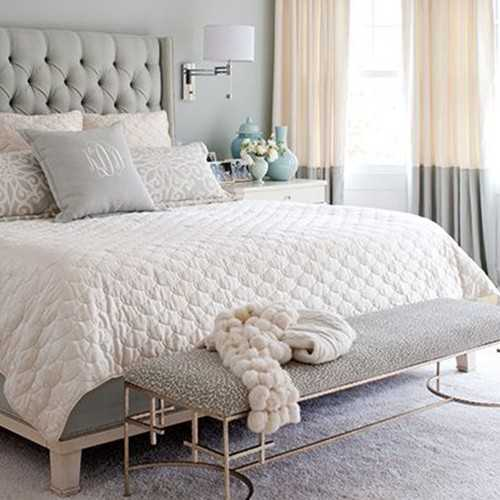 Lovely ... Neutral U0026 Serene Master Bedroom Ideas To Recreate With Shopping Sources  Via Ablissfulnest.com