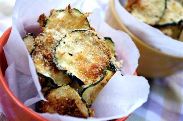 Oven Baked Zucchini Chips, 25 Best Appetizers to Serve