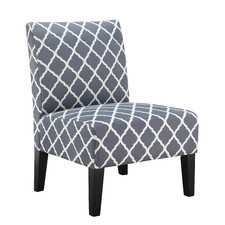 Adore the pattern on this accent chair! 25 of the best affordable accent chairs on ablissfulnest.com