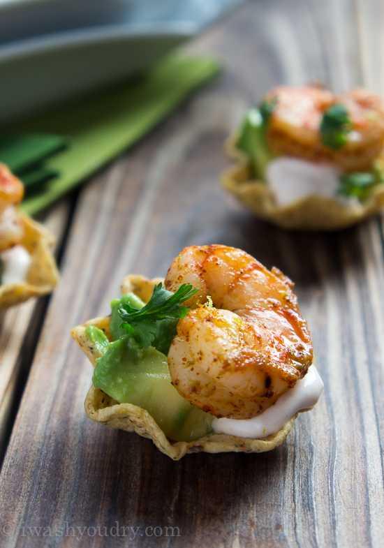 Shrimp Taco Bites, 25 Best Appetizers to Serve
