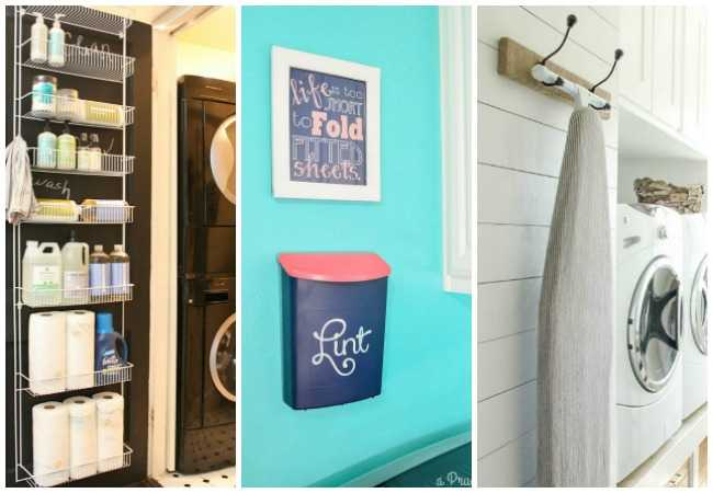 20 Laundry Room Organization Ideas FI