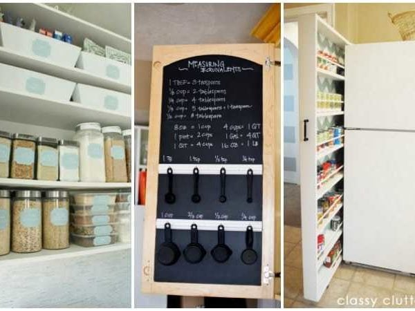 25 Kitchen Organization Ideas + Hacks