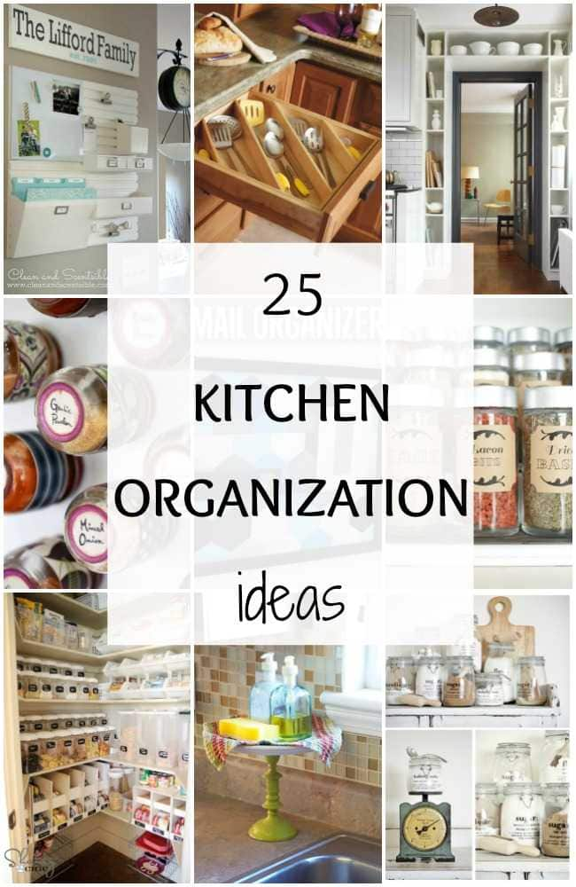 25 kitchen organization ideas hacks a blissful nest for Kitchen organization ideas
