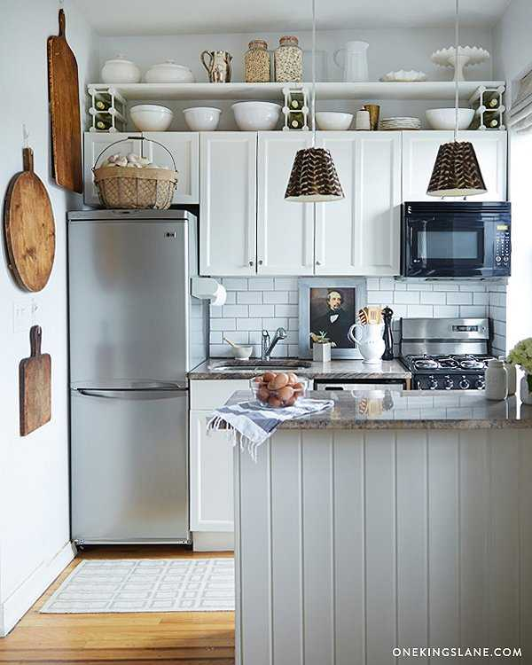 Additional Shelving Above the Cabinets, 25 Kitchen Organization Ideas