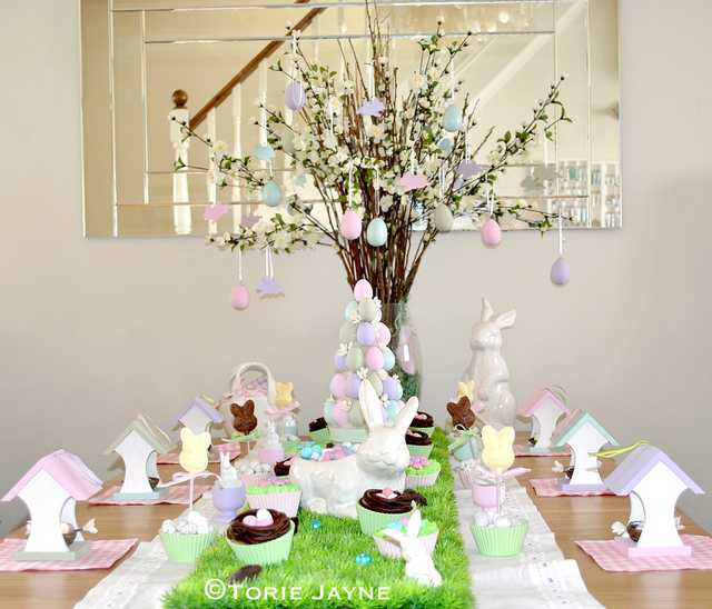 Country Garden Easter Table by Torie Jaye 10 Easter Table Ideas : easter table decoration ideas - www.pureclipart.com