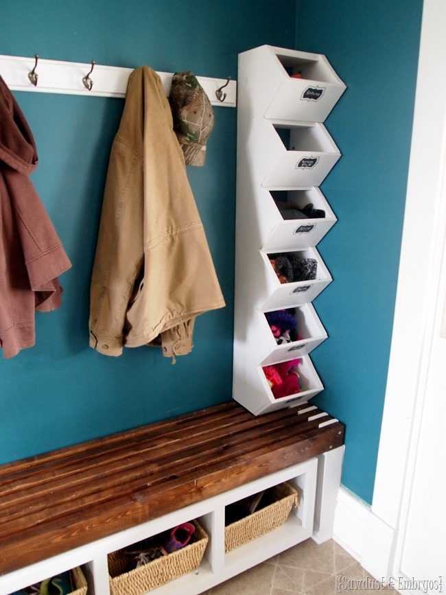Cubbies for Socks and Mittens, 20 Laundry Room Organization Ideas