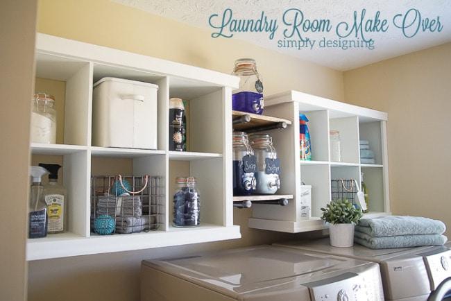 Cubby Shelf Hack, 20 Laundry Room Organization Ideas