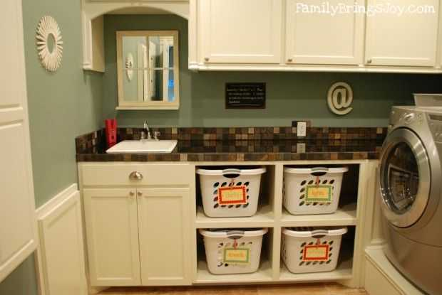 Dirty Laundry Basket Organization, 20 Laundry Room Organization Ideas