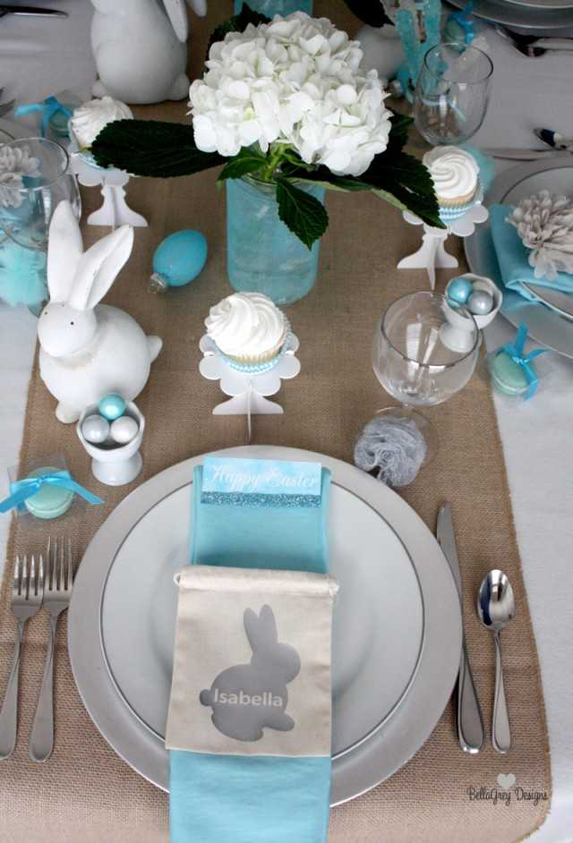 Easter Bruch Table by BellaGrey Designs, 10 Easter Table Ideas