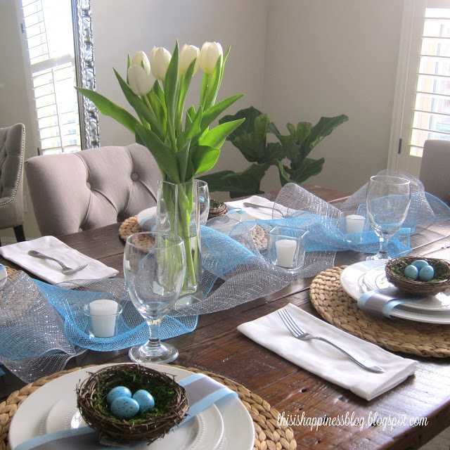 Easter Table By This Is Happiess Blog, 10 Easter Table Ideas