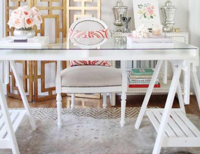 Design Details Uncovered – Glam Gold Office
