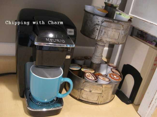 K Cup Storage Stand, 25 Kitchen Organization Ideas