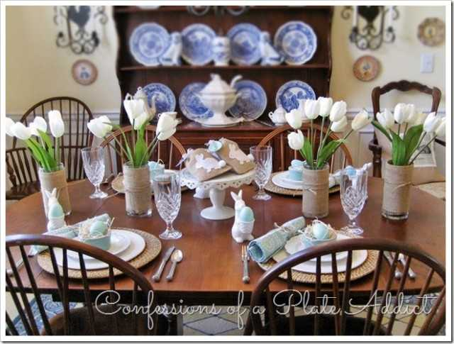 Pottery Barn Inspired Easter Table, 10 Easter Table Ideas