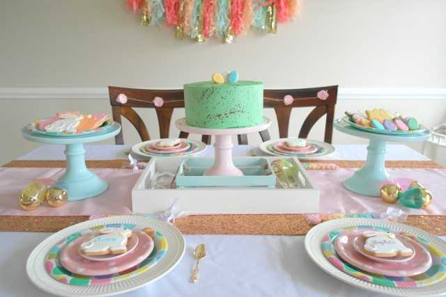 Sweet Easter Brunch Table By Sweetly Chic Events 10 Ideas