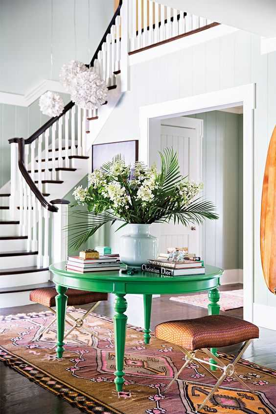 There are so many ways to use green in your home! Come get all the