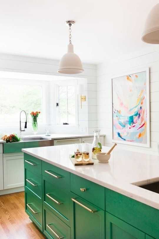 Decorating With Green - A Blissful Nest