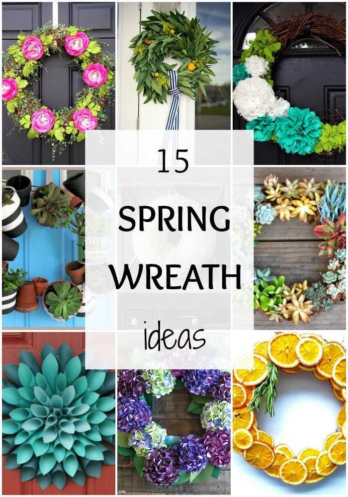 15 Best Spring Wreath Ideas