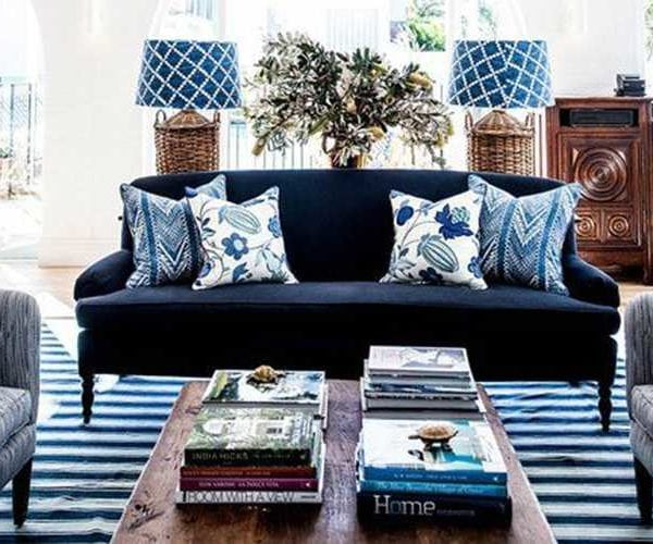 How To Decorate With Navy Blue + The Best Navy Paint Colors