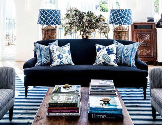 How To Decorate With Navy Blue + Paint Colors
