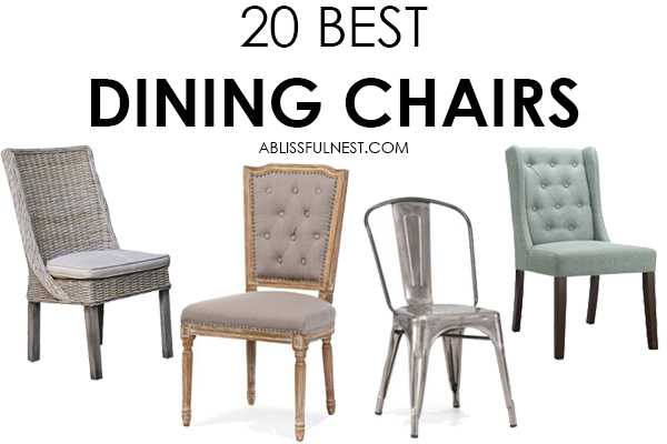Great Dining Room Chairs Fair Dining Chairs  The Best Roundup For Your Dining Room 2017