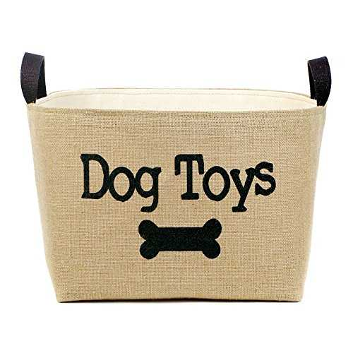 Dog Toys Burlap Storage Basket - Wayfair, Top 30 Organization Products