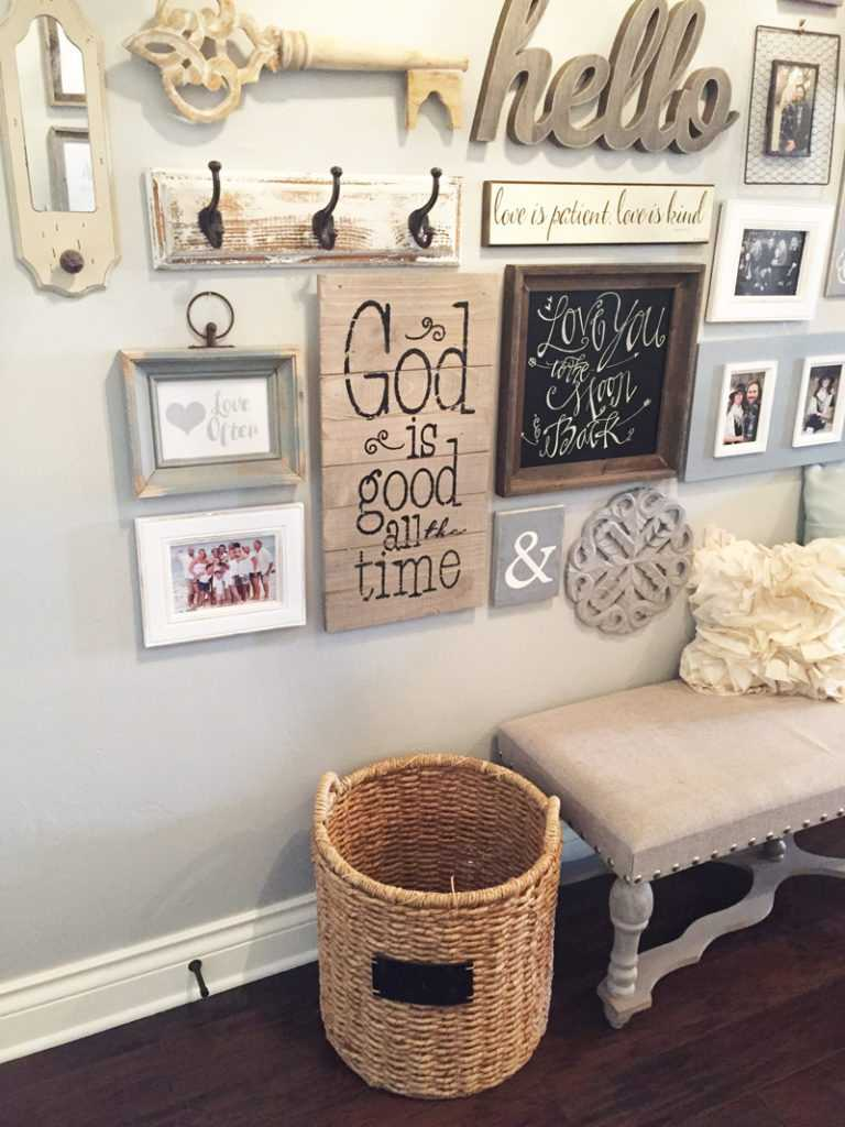 This step-by-step guide shows you how to create a gallery wall in your home, with advice on how to place, hang, and love the pieces you've gathered!