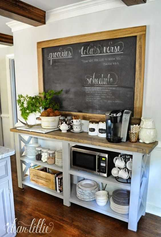 Snag our tips and hints on creating the perfect coffee station with these few essential items and ideas via A Blissful Nest. ablissfulnest.com