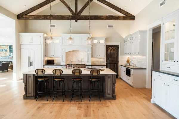 20 Farmhouse Kitchens 2 on kitchen peninsula ideas
