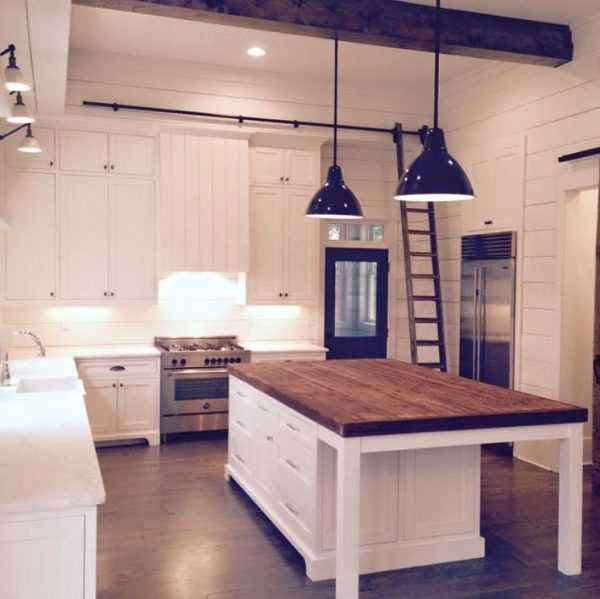 9 Standout Kitchen Islands: Farmhouse Kitchen Ideas For Fixer Upper Style + Industrial