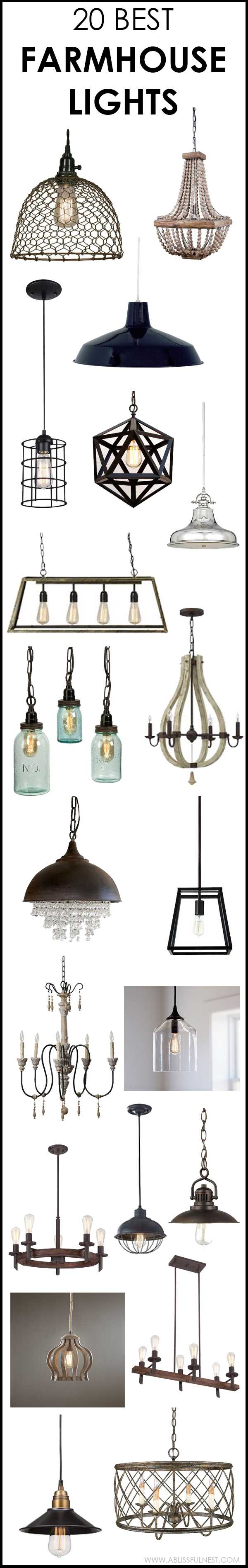 vintage farmhouse lighting. We\u0027ve Got 20 Of The Best Farmhouse Lights For You To Choose From! Vintage Lighting I