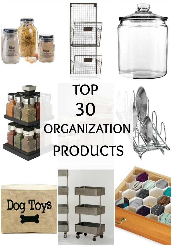 Top 30 Oranization Products via A Blissful Nest