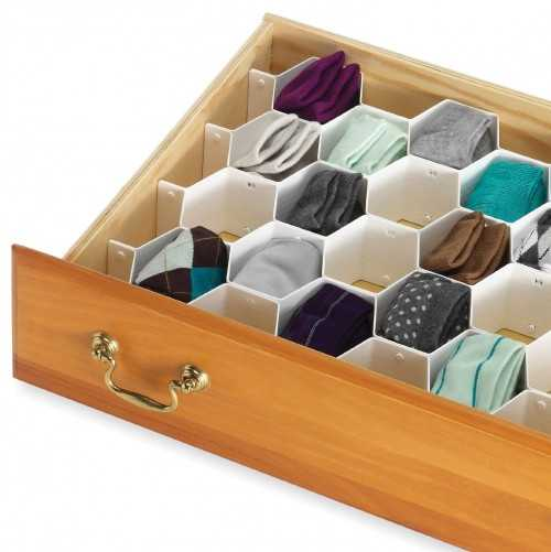 Whitmor Honeycomb Drawer Dividers - Amazon, Top 30 Organization Products