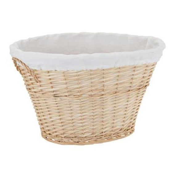 Always have a beautiful and functional laundry basket for your home. #ABlissfulNest #organization