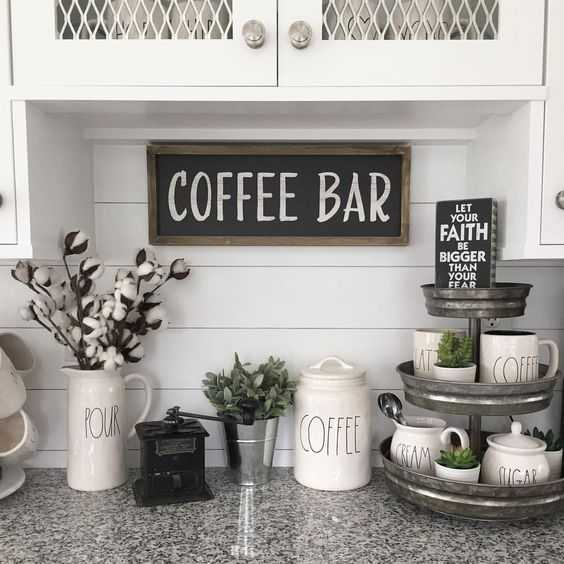 How To Create Your Own Coffee Bar at Home