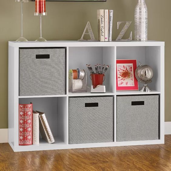 Love this modular storage cubes for toy storage. #ABlissfulNest #organization