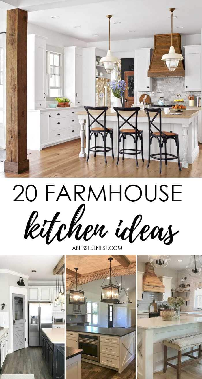 Farmhouse Kitchen Design Ideas Part - 35: Love These Gorgeous Farmhouse Kitchen Ideas! Farmhouse Kitchen Cabinets, Farmhouse  Kitchens, Farmhouse Cabinets