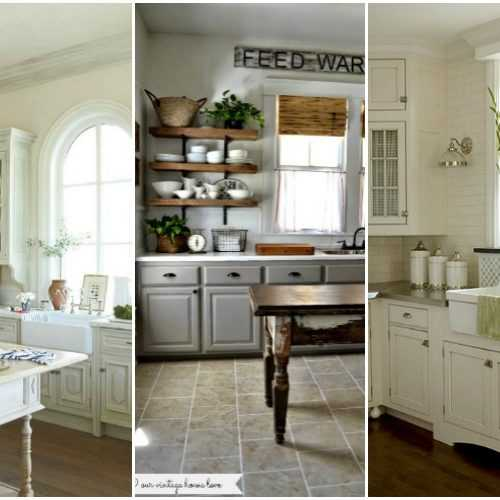 Love farmhouse style from Fixer Upper?! Take a look at these 20 gorgeous Farmhouse kitchens and see how you can get some Fixer Upper style in your own home.