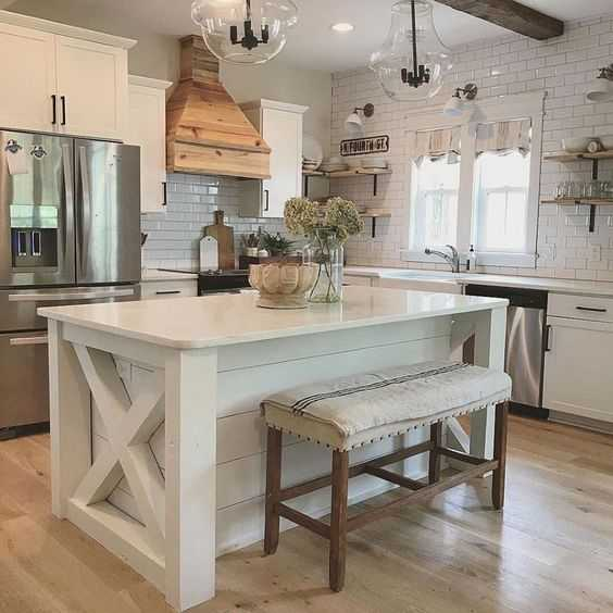A Gorgeous Farmhouse Kitchen Transformation Farmhousekitchen Farmhousestyle