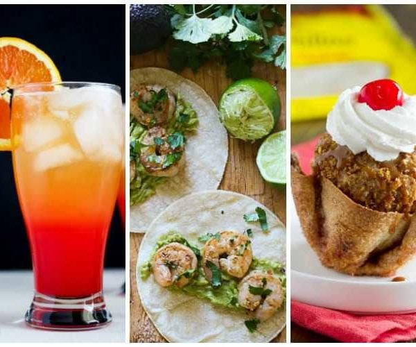 Cinco De Mayo Food and Drink Ideas
