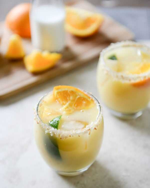 Coconut Creamsicle Margarita, Cinco De Mayo Food and Drink Ideas