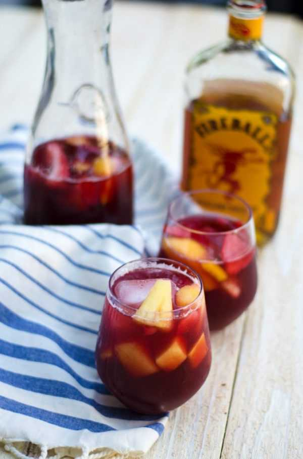Fireball Sangria, 20 Best Summer Cocktails